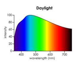 Tageslicht Spektrum